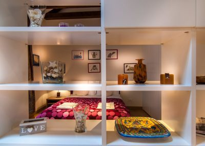 COSY NEST APARTMENT, a view of the sleeping area