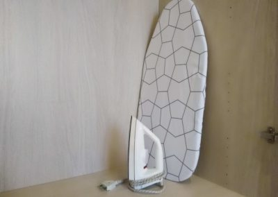 COSY NEST APARTMENT, iron and ironing board