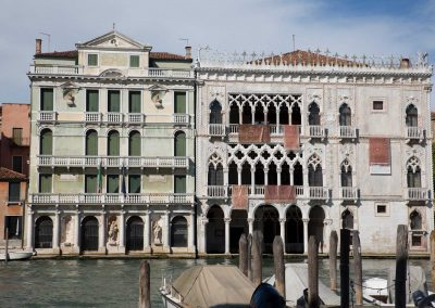CA' D'ORO PALACE, across the Grand Canal by gondola ferry in 3 minutes