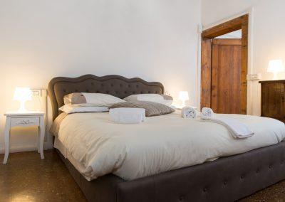 CA' VERNIER APARTMENT, the double bedroom