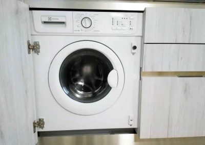 CA' VERNIER APARTMENT, the washing machine