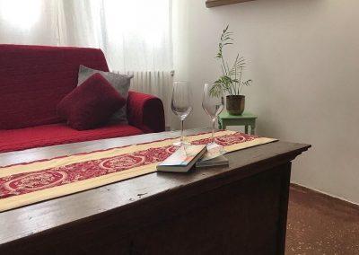 CA' VERNIER APARTMENT, the living room