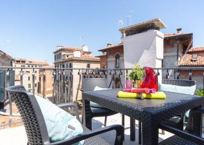 GIARDINO SEGRETO APARTMENT, the terrace