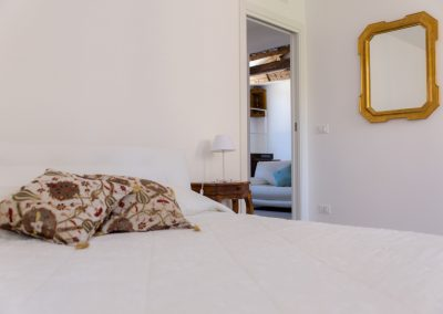 GIARDINO SEGRETO APARTMENT, the master bedroom