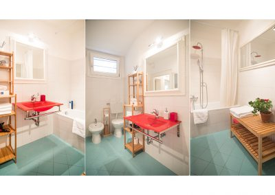 CA' LINA APARTMENT, general view of the bathroom
