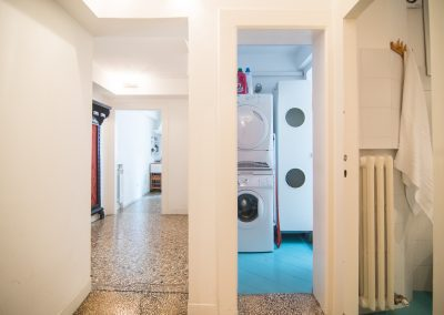 CA' LINA APARTMENT, the door to the laundry area