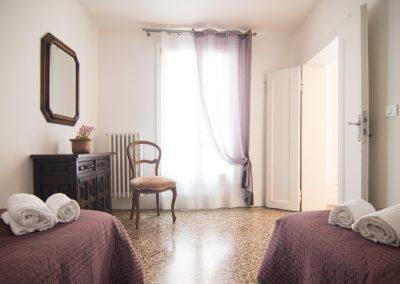 CA' LINA APARTMENT, the twin bedroom