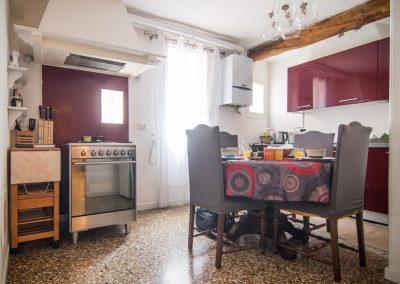 CA' LINA APARTMENT, the kitchen