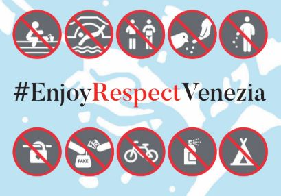 ARE THERE RULES OF CONDUCT IN VENICE?